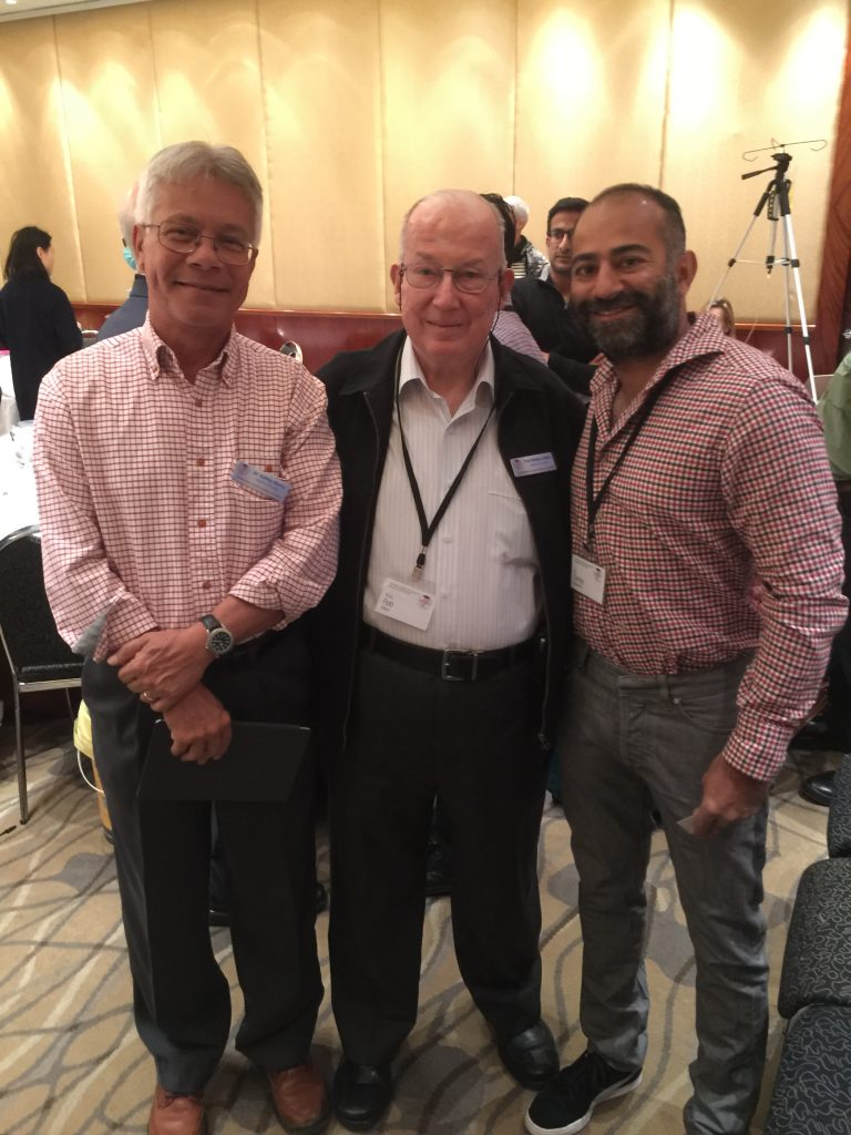 Dr Nadkarni with Prof. Robert Allen (co founder of ANCM) and Dr Ashley Berry who is at the forefront of nutritional medicine in Sydney.